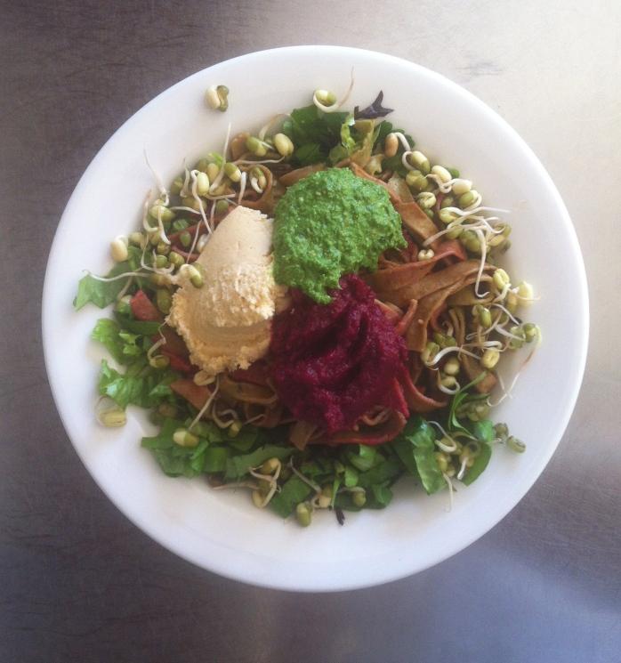 salad bowl - home made